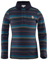 Paul Smith Multi Stripe Pique Polo