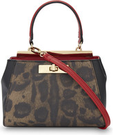 Aldo Petite Sugarland leopard spot faux-leather cross-body