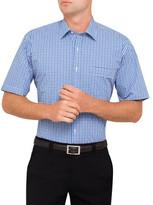 Van Heusen S/S Bold Tattersal Check Classic Fit Shirt