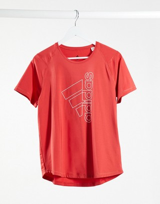 adidas Training t-shirt red