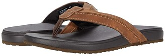 Lucky Brand Felton (Tan Synthetic) Men's Slide Shoes