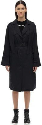 Moncler Vermeille Nylon Padded Trench Coat