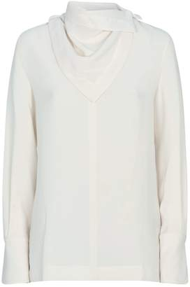 3.1 Phillip Lim Detachable Scarf Blouse