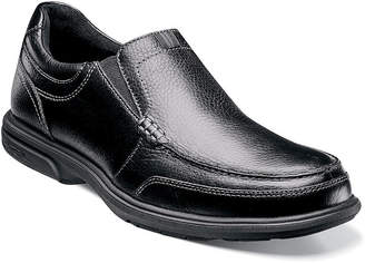 Nunn Bush Mens Carter Moc Toe Casual Slip-On Shoe