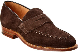 Dunhill Suede Loafer