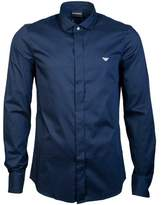 Armani Shirt Slim Fit 6Z1CN7 1NFUZ