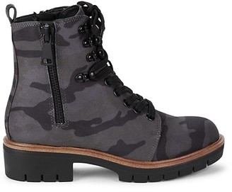 Mia River-N Camouflage Boots