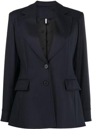 Chloé Virgin Wool-Blend Blazer
