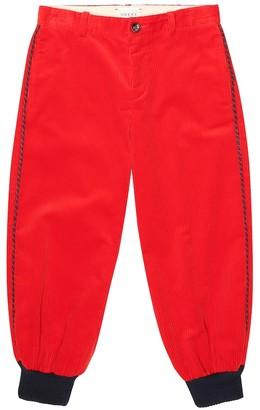 Gucci Kids Corduroy pants