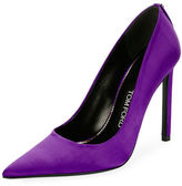 Tom Ford Pointed-Toe Satin 105mm Pump
