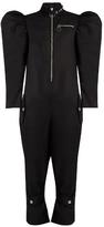Marques Almeida MARQUES'ALMEIDA Puff-sleeved zip-through jumpsuit