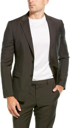 Ermenegildo Zegna 2Pc Wool Suit With Flat Pant