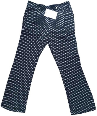 Madame à Paris Silk Trousers for Women