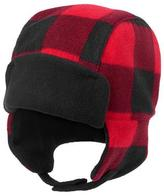 Crazy 8 Buffalo Check Microfleece Hat