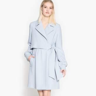 La Redoute Collections Wrapover Overlay Coat