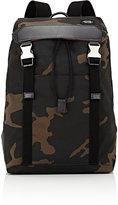 Jack Spade Men's Waxwear Camouflage-Print Backpack-GREEN