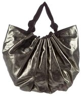 Lanvin Large Polisson Metallic Tote