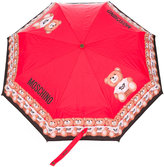 Moschino teddy bear border umbrella - unisex - Polyester - One Size