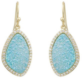Marcia Moran Blue Druzy Earrings