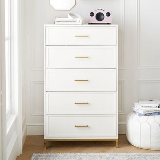 Pottery Barn Teen Blaire 5-Drawer Tall Dresser