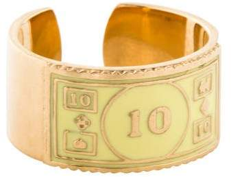 Alison Lou 14K Monopoly $10 Stackable Ring
