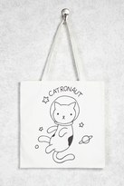 Forever 21 Catronaut Graphic Tote Bag