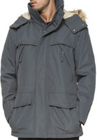 Andrew Marc Stowe Faux Fur Trimmed Hooded Jacket