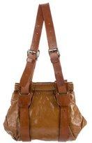 Dries Van Noten Patent Leather Shoulder Bag