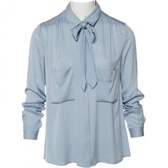 By Malene Birger Blue Silk Top for Women