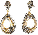 Erickson Beamon Crystal Chandelier Earrings