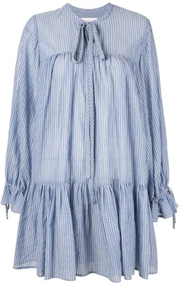 Karen Walker Striped Short Dress