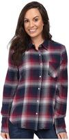 Stetson Pomegrante Plaid Western Shirt