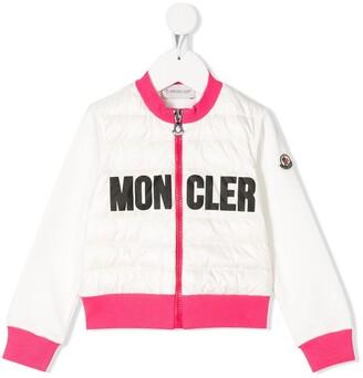 Moncler Enfant Logo Stamp Padded Jacket