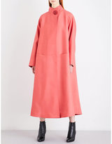Roksanda Karel oversized wool and silk-blend coat