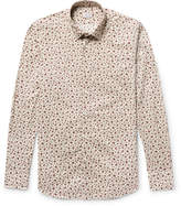 Incotex - Kurt Slim-fit Floral-print Cotton-poplin Shirt