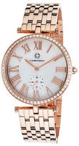 Cabochon 16389-RG-22 Women's Carlita Rose-Tone Stainless Steel White Mother