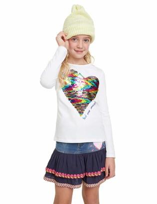 Desigual Girls Virginia Longsleeve T-Shirt