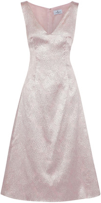 J. Mendel J.mendel Corded Lace Midi Dress