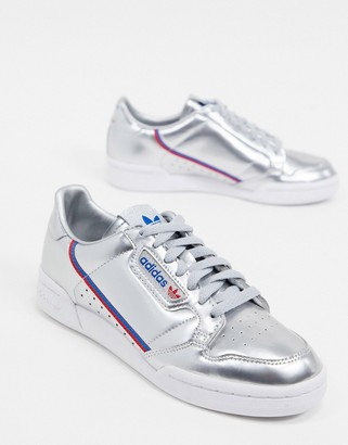 adidas Continental 80 sneakers in silver
