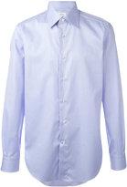 Brioni plain shirt - men - Cotton - 38