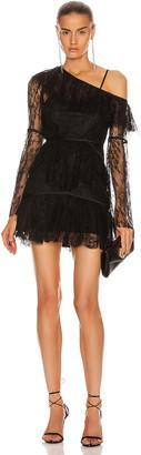Alice McCall Shadow Love Mini Dress in Black | FWRD