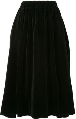 Comme des Garçons Comme des Garçons High-Waisted Midi Skirt