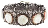 Konstantino Mother Of Pearl Link Bracelet