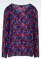 Armani Jeans Heart Print Blouse