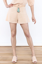 Sage Soft Textured Shorts