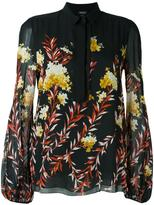 Giambattista Valli floral print blouse - women - Silk/Cotton/Viscose - 40