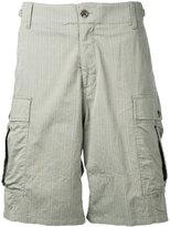 Undercover faint striped cargo shorts - men - Cotton/Polyurethane - 2