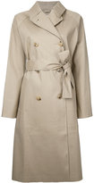 MACKINTOSH raglan sleeve trench coat - women - Cotton - 32