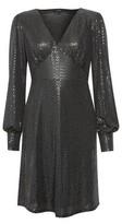 Dorothy Perkins Womens Vero Moda Black Short Skater Dress, Black