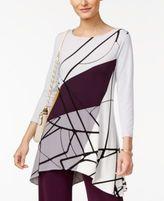 Alfani Printed Swing Top, Created for Macy's